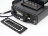 ecógrafo con posibilidad de guardar fotos y películas en un disco interno, trasmisión de datos a un disco externo mediante micro USB