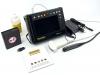 sistema de ultrasonido moderno y compacto con sondas electrónicas