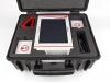 УЗИ сканер в чемодане, предохраняющим оборудование от воздействия высоких и низких наружных температур