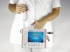leichtes Ultraschallgerät mit austauschbaren mechanischen Sonden zur schnellen Diagnostik auβerhalb der Arztpraxis
