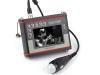 Échographe portable pour examiner de petits animaux d'élevage. Échographe universel pour le diagnostic des truies, des moutons, des chèvres et des vaches