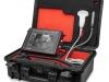 Tragbares Ultraschallgerät mit robustem Koffer