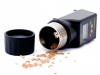 Tester wilgotności DRAMIŃSKI Twist wyróżnia się podświetlanym wyświetlaczem czytelnym w pełnym słońcu na polu, kompensacją temperatury, zasilaniem bateryjnym, precyzyjnym pomiarem wilgotności i temperatury