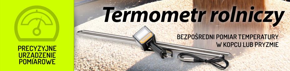 DRAMIŃSKI Termometr rolniczy – narzędzie do pomiaru temperatury składowanych płodów rolnych. Sprawdź!