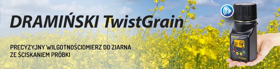 DRAMIŃSKI TwistGrain – wilgotnościomierz o ergonomicznej budowie i precyzyjnym pomiarze. Sprawdź!