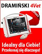 Dramiński 4Vet - profesjonalny ultrasonograf weterynaryjny. Idealny dla Ciebie! Przekonaj się dlaczego!