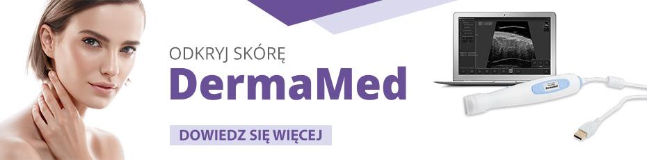 Ultrasonograf DermaMed do badania skóry dla dermatologów i lekarzy medycyny estetycznej