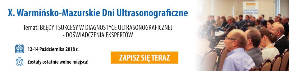 Zostały ostatnie dni by zapisać się na X Warmińsko Mazurskie Dni Ultrasonograficzne