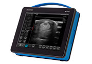 Nowoczesny przenośny ultrasonograf weterynaryjny dramiński blue