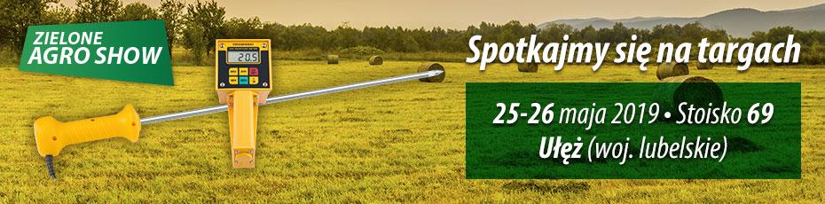 Zapraszamy na targi Zielone Agro Show gdzie zaprezentujemy wilgotnościomierze