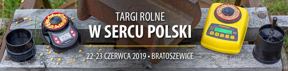 Zapraszamy na Targi Rolne W Sercu Polski Bratoszewice 2019