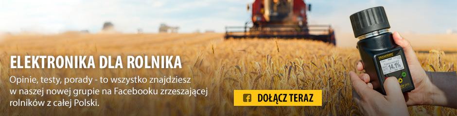 Dołącz do naszej nowej grupy na FB Elektronika dla Rolnika i poznaj nowinki ze świata wilgotnościomierzy