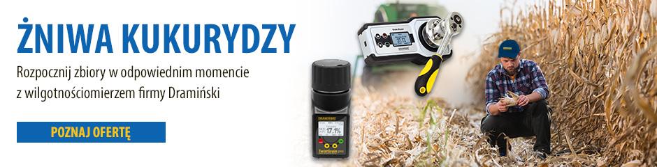 Żniwa kukurydzy 2019 będą udane z wilgotnościomierzem TwistGrain pro lub GMS jaki wilgotnościomierz do kukurydzy badanie wilgotności ziarna kiedy kosić kukurydzę żniwa kukurydziane