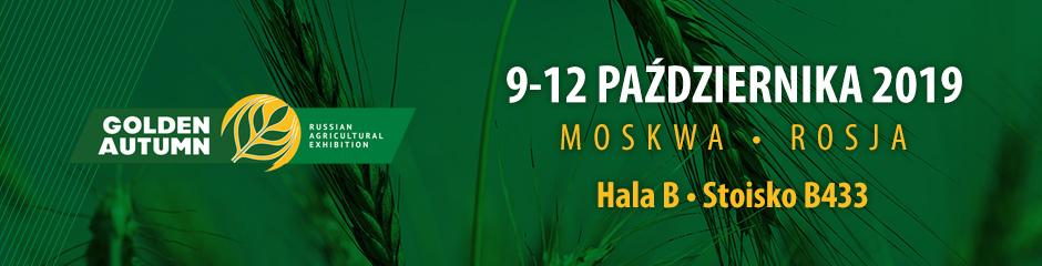 DRAMIŃSKI S.A. na targach Złota Jesień w Moskwie
