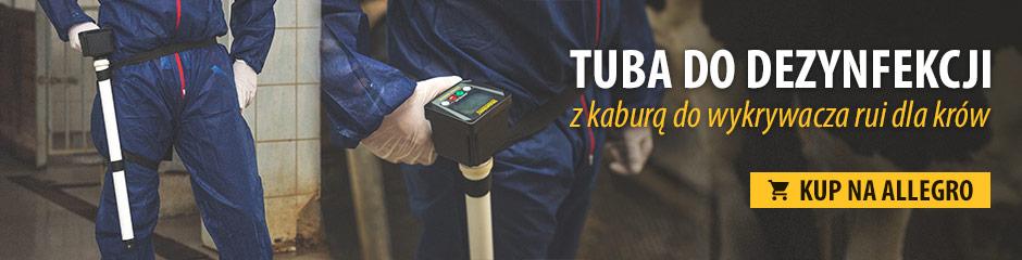 Najlepszej jakości kabura i tuba do dezynfekcji na wykrywacz optymalnego terminu krycia dla krów i klaczy EDC2
