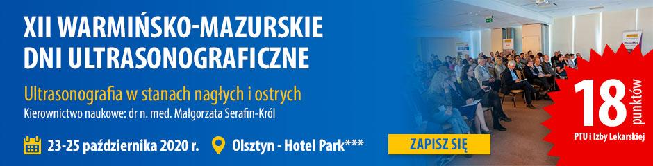 XII edycja Konferencji Ultrasonograficznej organizowanej przez firmę Dramiński na której można zdobyć punkty PTU i Izby Lekarskiej