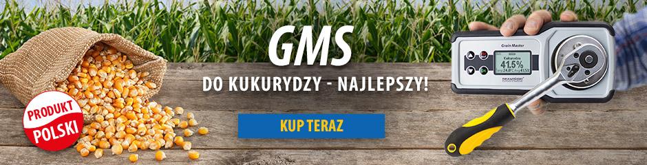 Wilgotnościomierz do ziarna kukurydzy ze śrutowaniem próbki DRAMIŃSKI GMS produkowany w Polsce