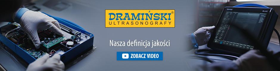 Dramiński to niezależny polski producent przenośnych ultrasonografów i urządzeń elektronicznych dla rolnictwa