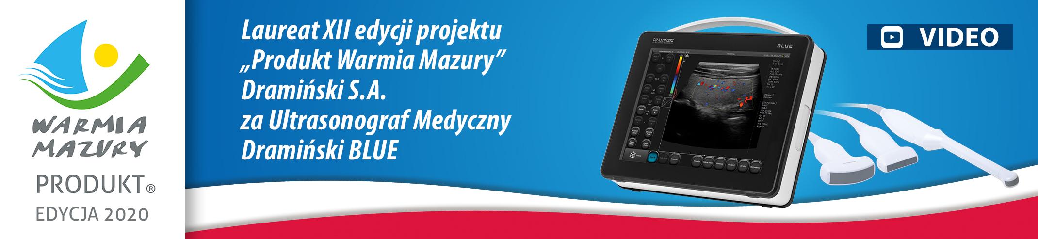 Produkt Warmii i Mazur - Ultrasonograf medyczny BLUE